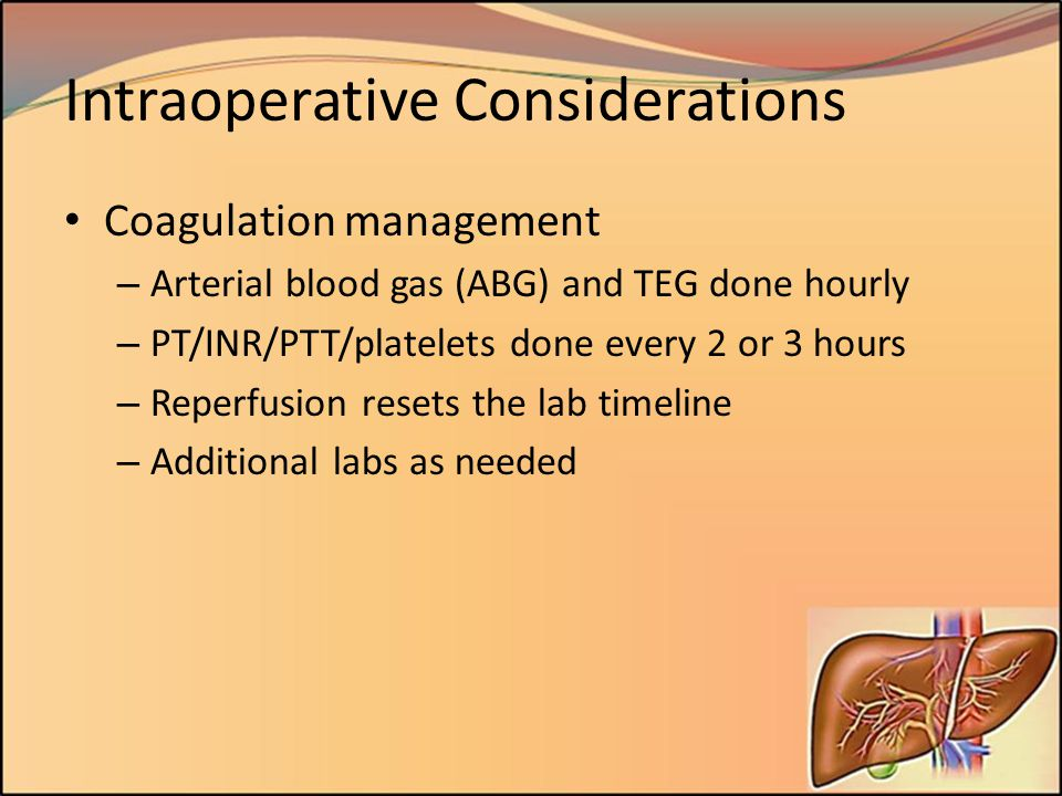 Intraoperative Considerations