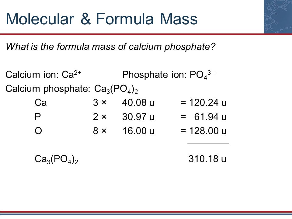 Chapter 7 Chemical Formula Relationships - ppt video ...