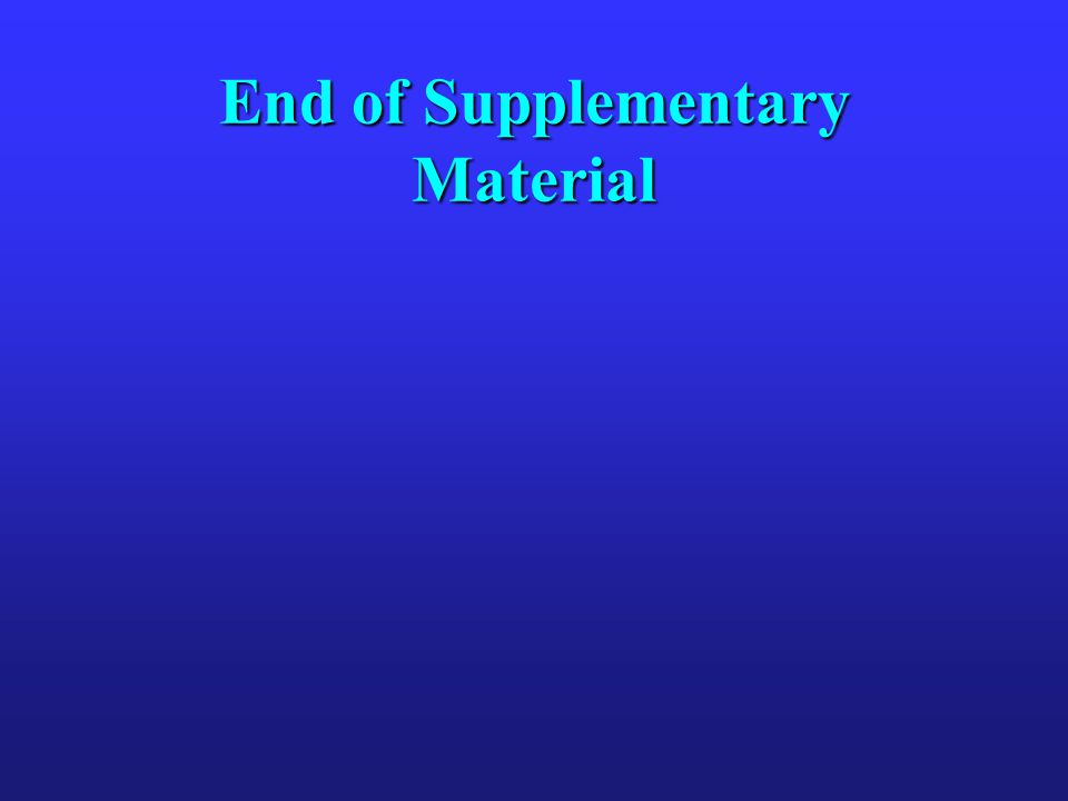 End of Supplementary Material