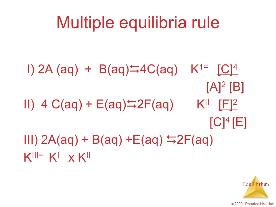 Multiple equilibria rule