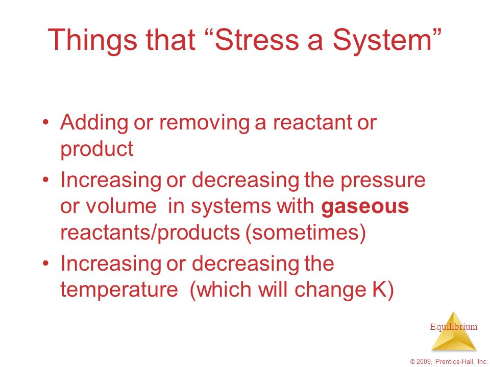 Things that Stress a System