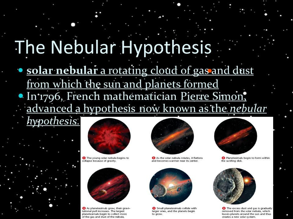 a discussion on how big planets are formed Start studying physical science chapter 19 learn vocabulary big gases are blown planets may have been formed out of material orbiting the early sun through.