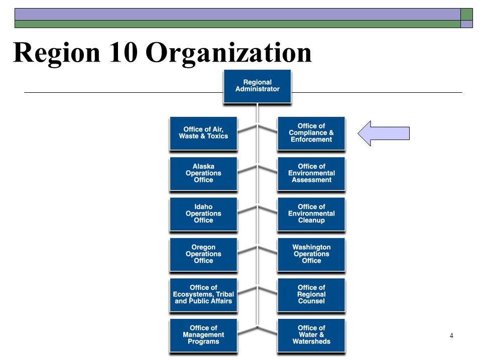 Region 10 Organization