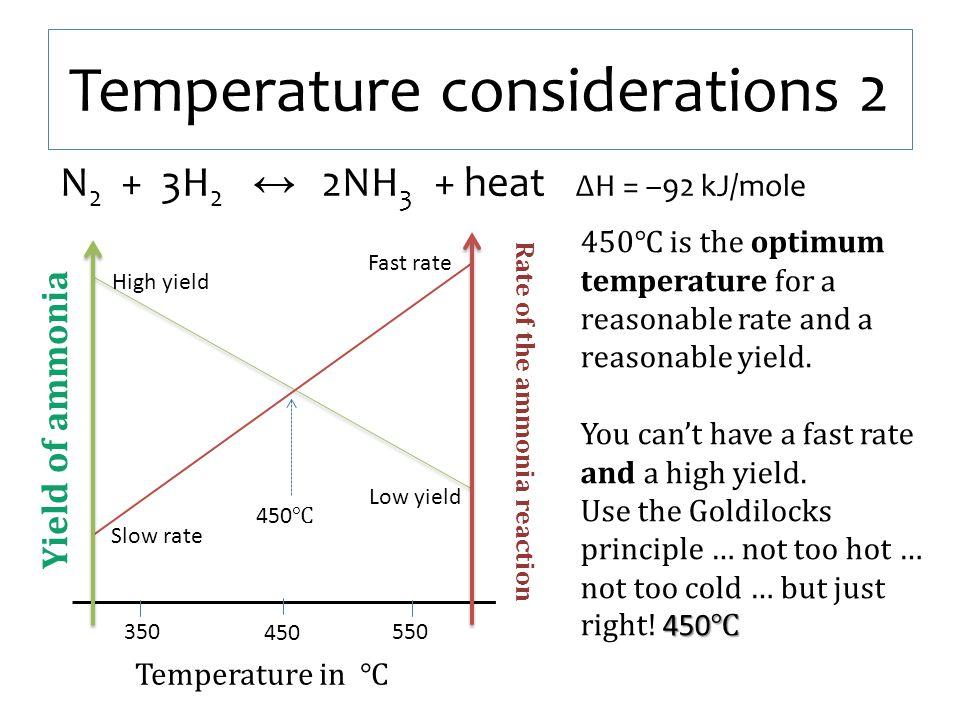 Temperature considerations 2