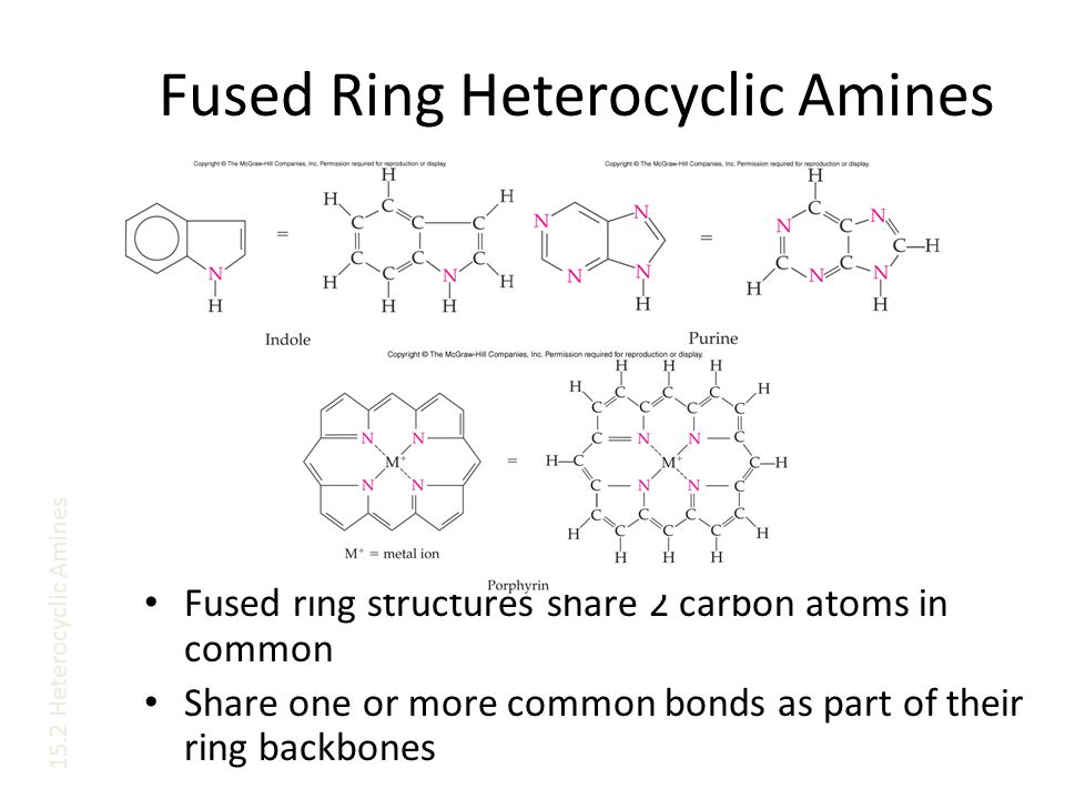Fused Ring Heterocyclic Amines