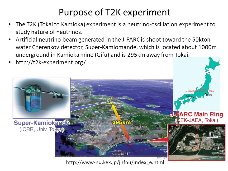 Purpose of T2K experiment