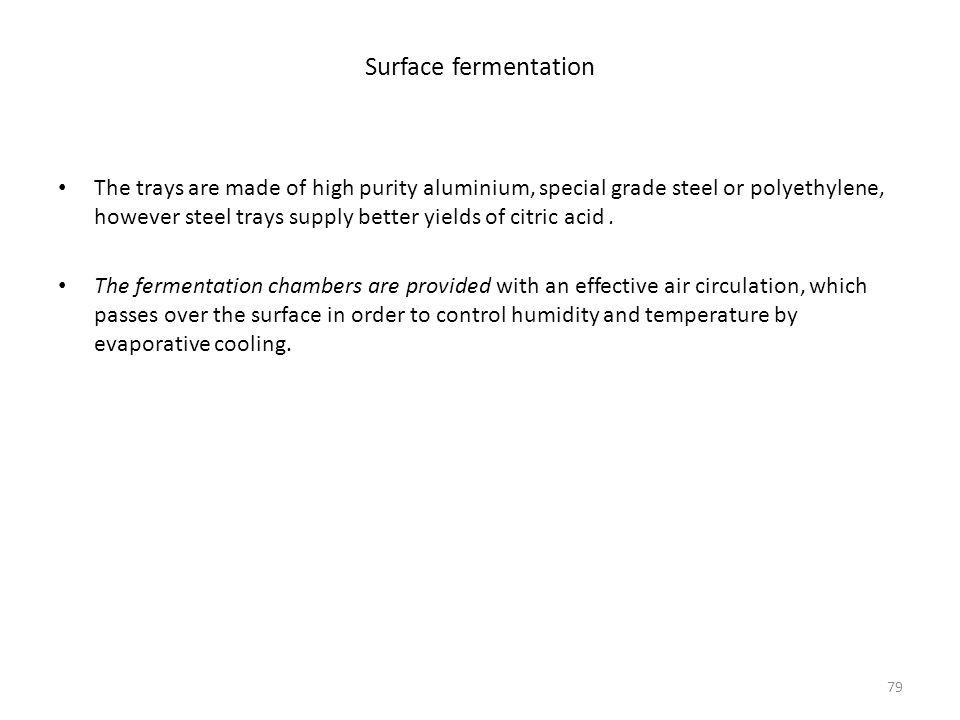 Surface fermentation