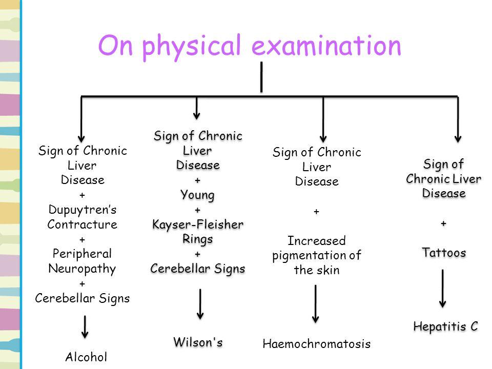 On physical examination