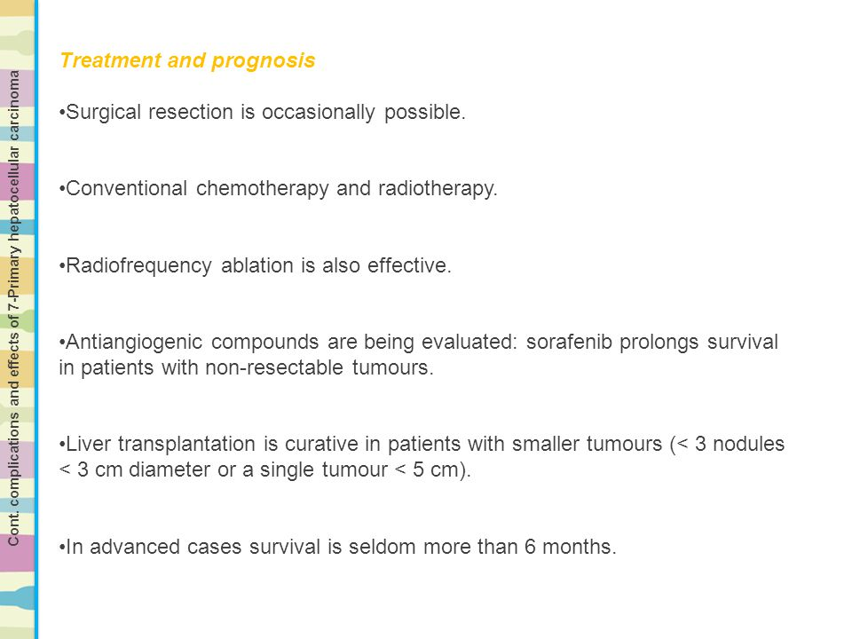 Treatment and prognosis Surgical resection is occasionally possible.