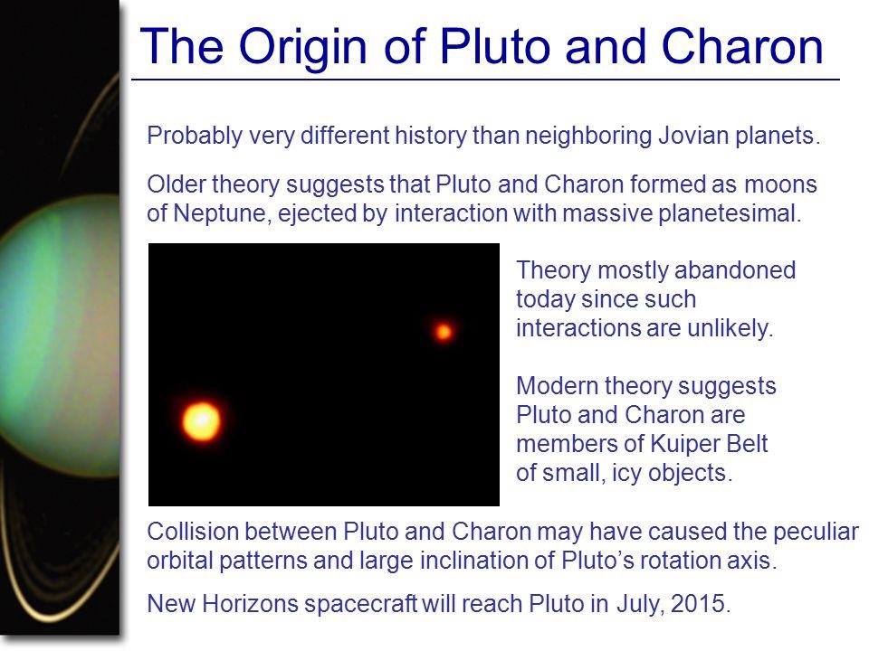 The Origin of Pluto and Charon
