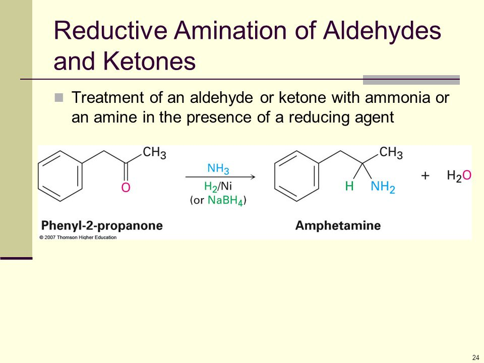 Reductive Amination of Aldehydes and Ketones