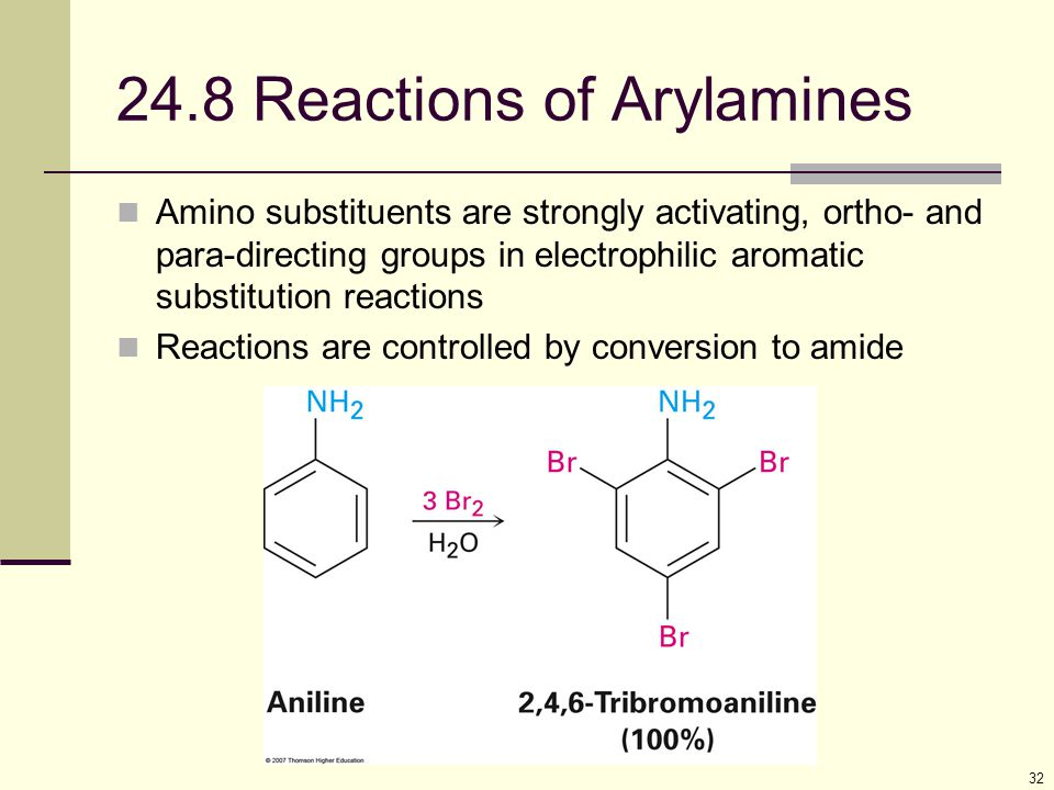 24.8 Reactions of Arylamines