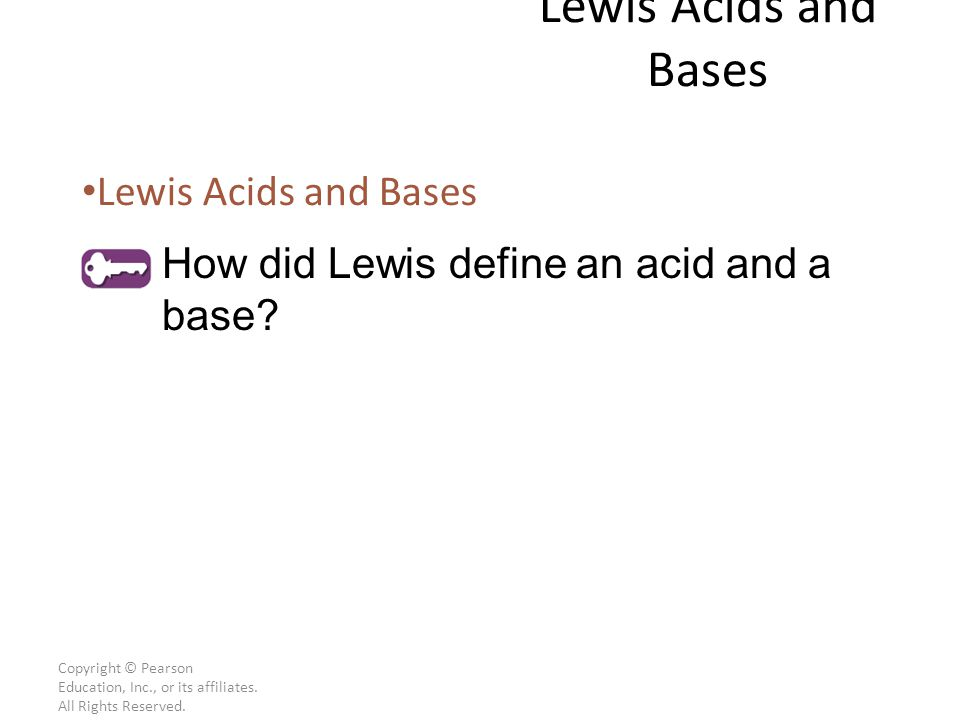 Lewis Acids and Bases Lewis Acids and Bases