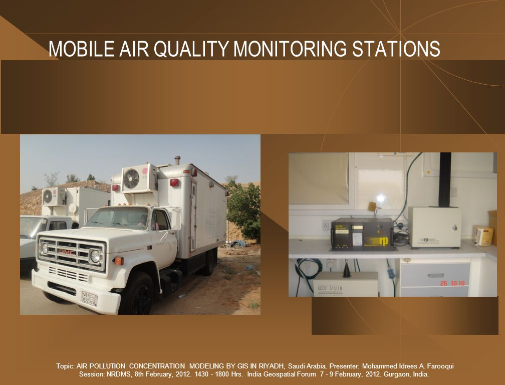 MOBILE AIR QUALITY MONITORING STATIONS