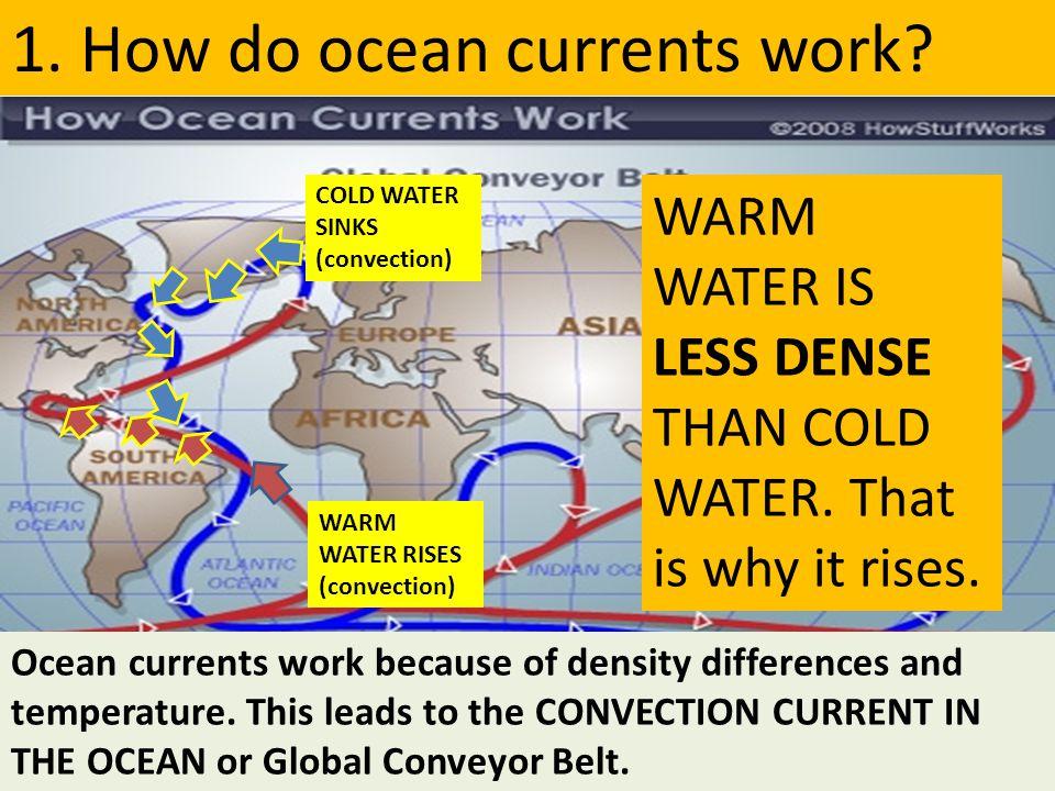1. How do ocean currents work
