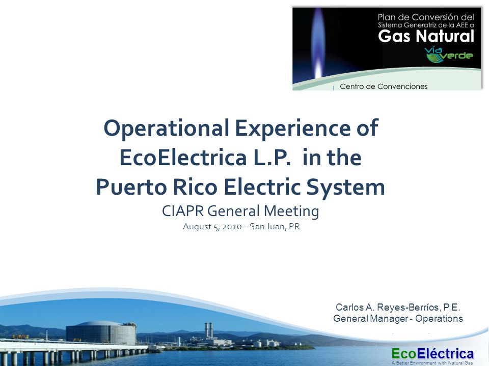 Operational Experience of