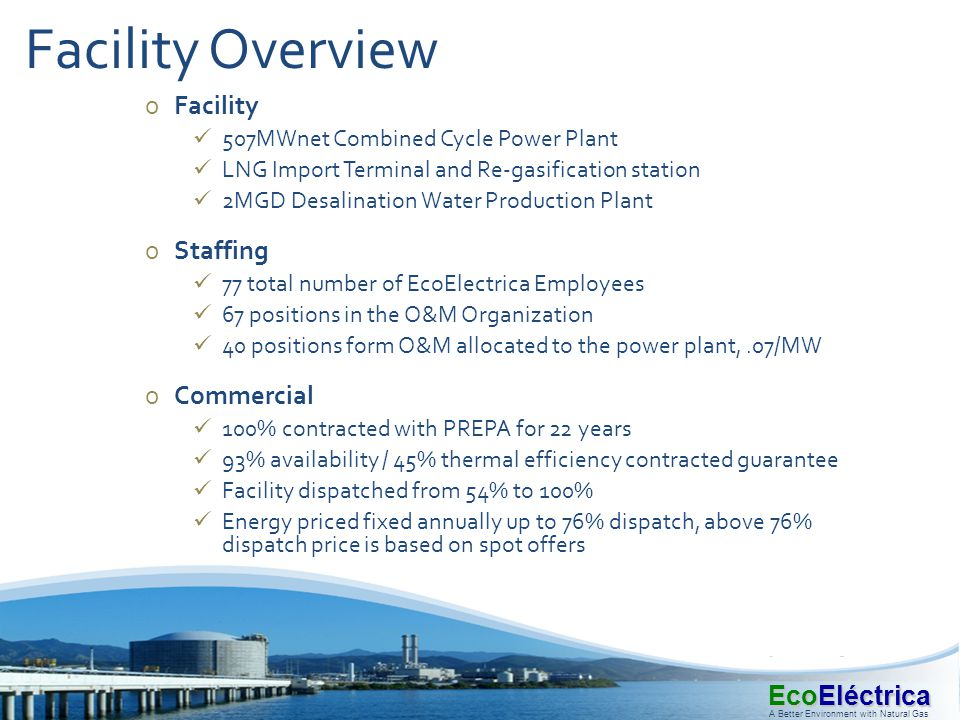 Facility Overview Facility Staffing Commercial