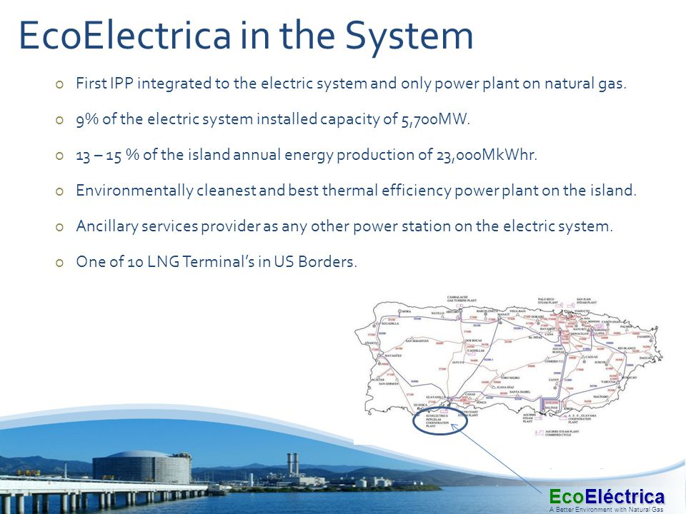 EcoElectrica in the System