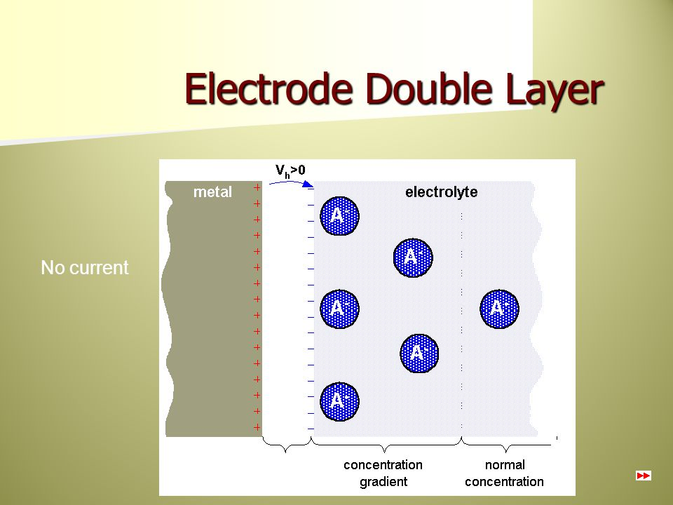 Electrode Double Layer
