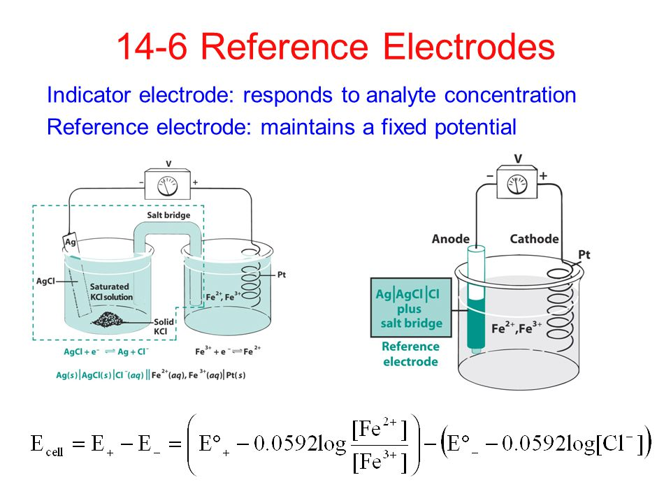 14-6 Reference Electrodes