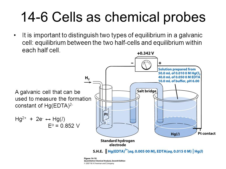 14-6 Cells as chemical probes