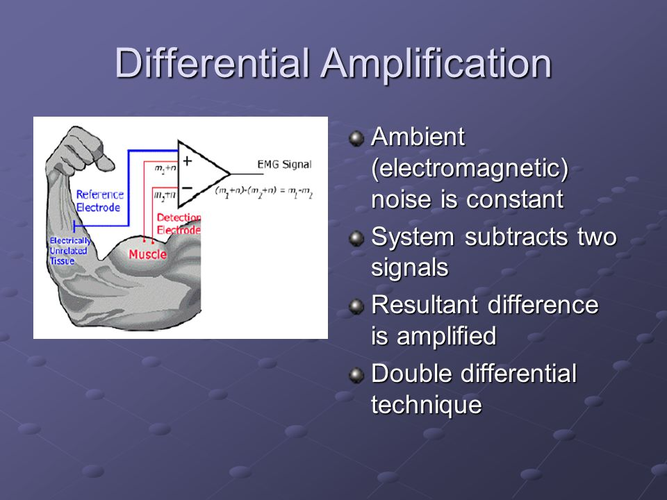 Differential Amplification