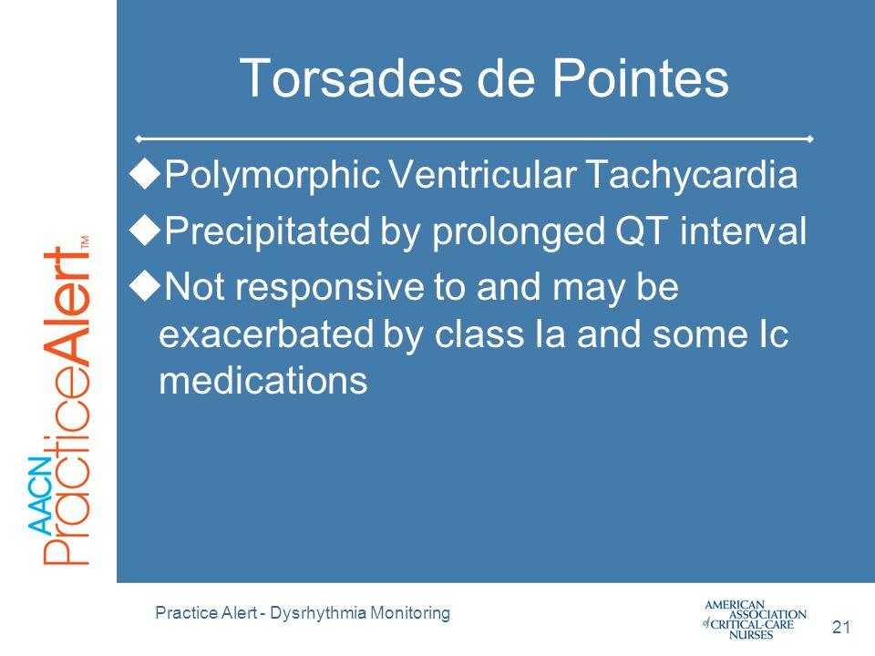 Torsades de Pointes Polymorphic Ventricular Tachycardia