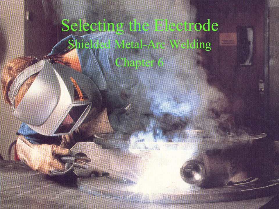 Selecting the Electrode