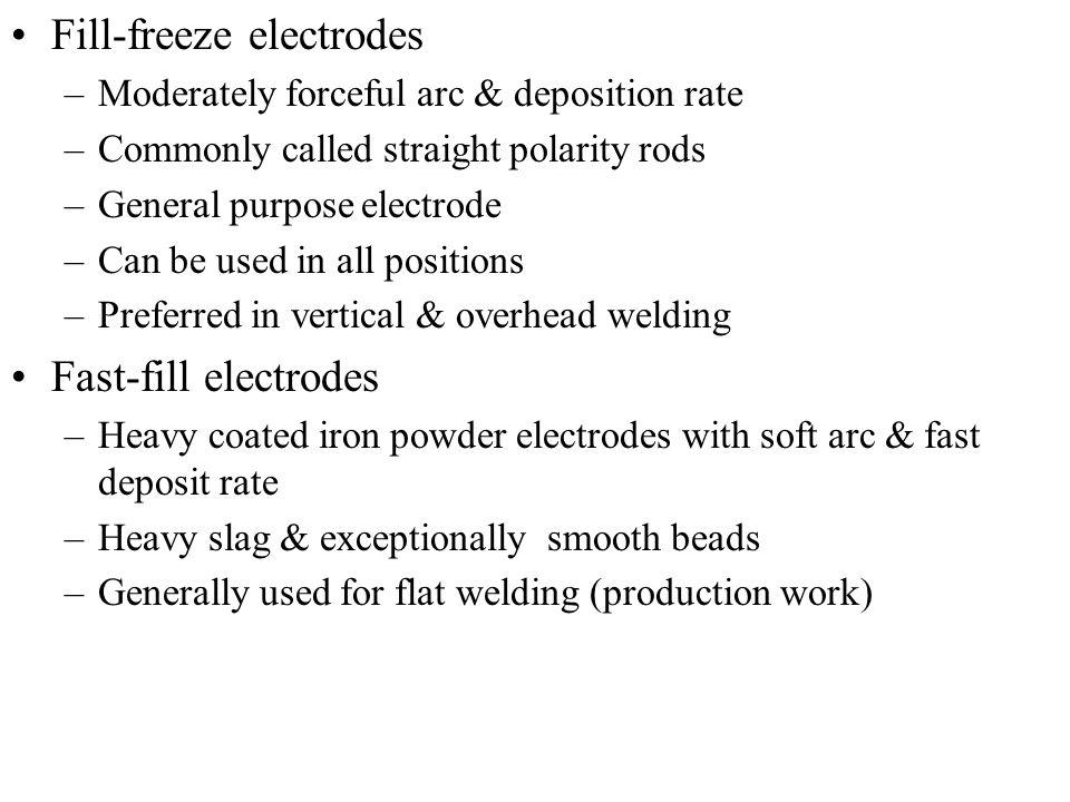 Fill-freeze electrodes