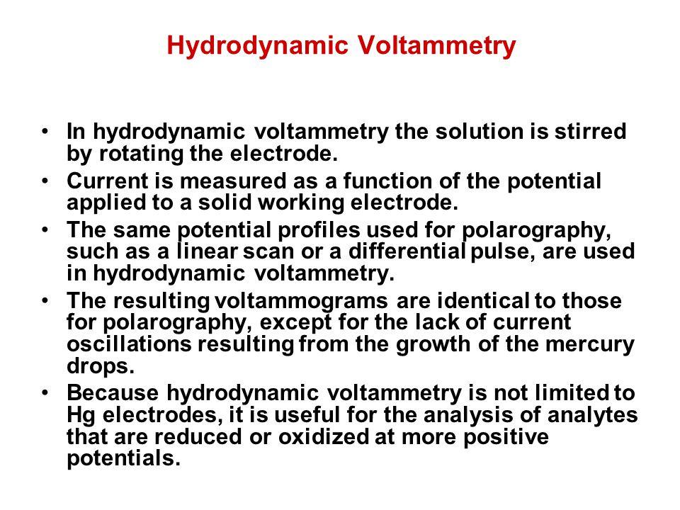Hydrodynamic Voltammetry