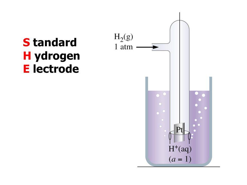 S tandard H ydrogen E lectrode