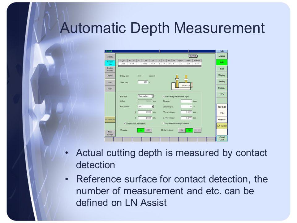 Automatic Depth Measurement