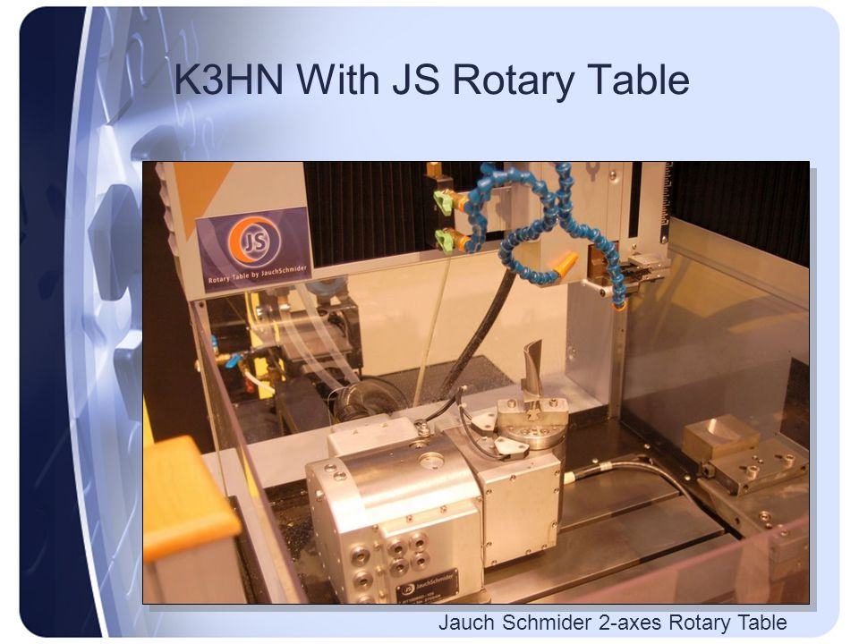 K3HN With JS Rotary Table