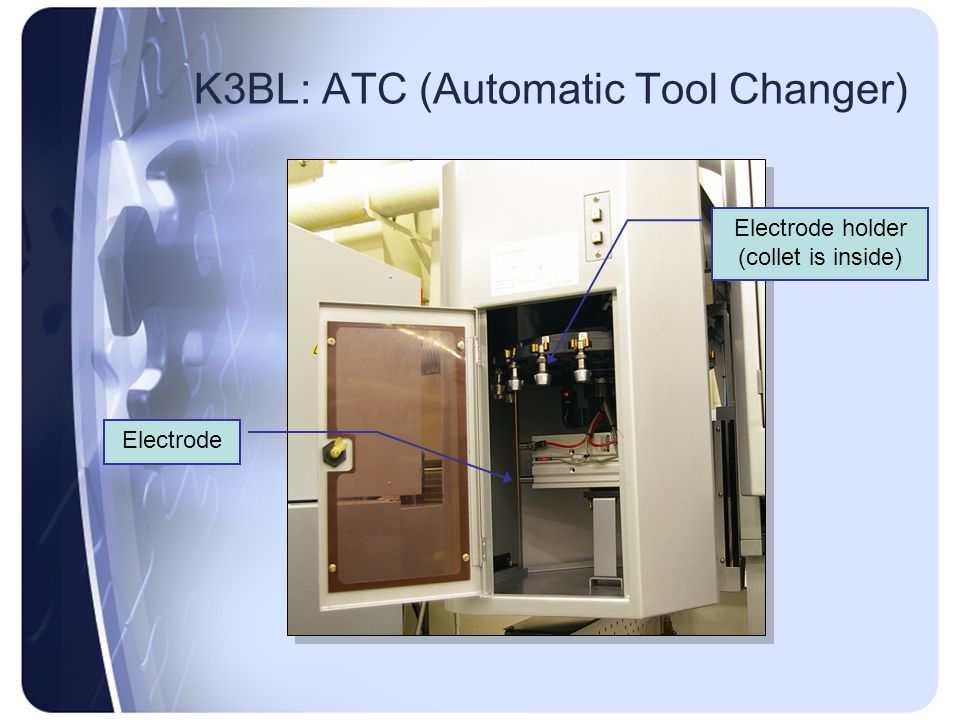 K3BL: ATC (Automatic Tool Changer)