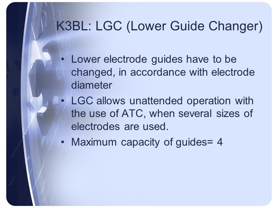 K3BL: LGC (Lower Guide Changer)