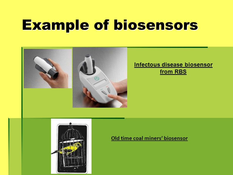 Infectous disease biosensor from RBS Old time coal miners' biosensor