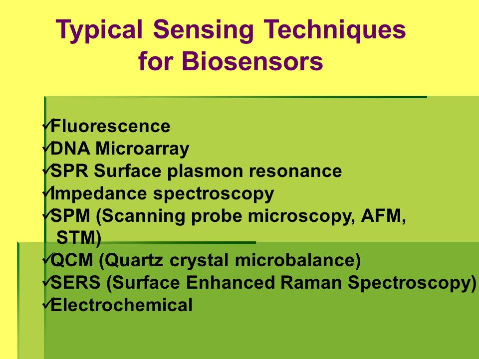 Typical Sensing Techniques