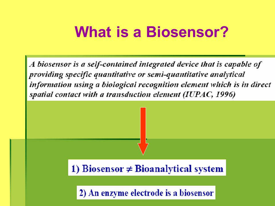 What is a Biosensor