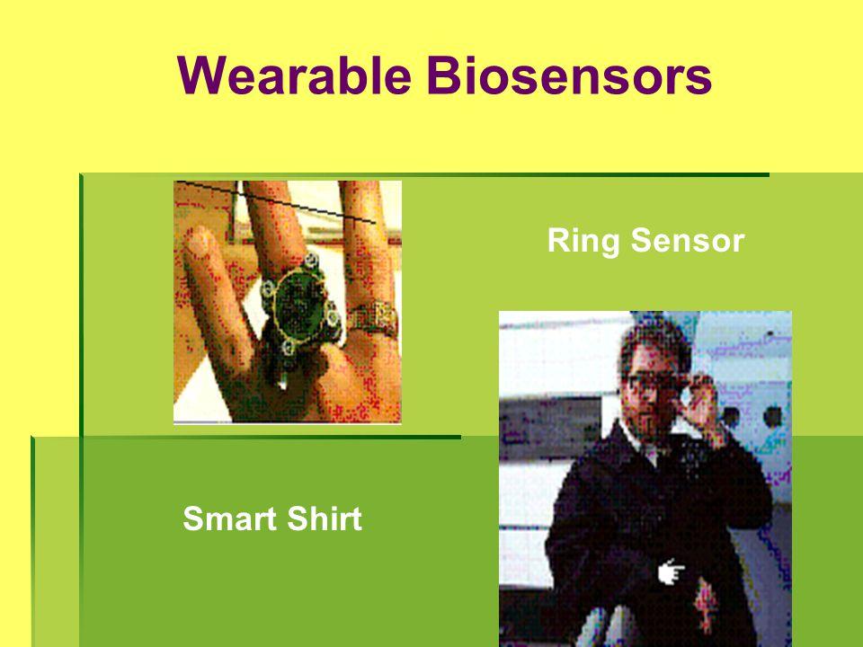 Wearable Biosensors Ring Sensor Smart Shirt