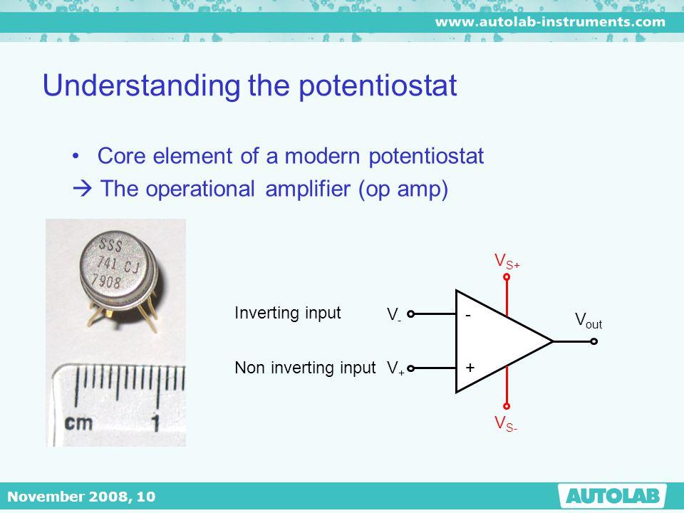 Understanding the potentiostat
