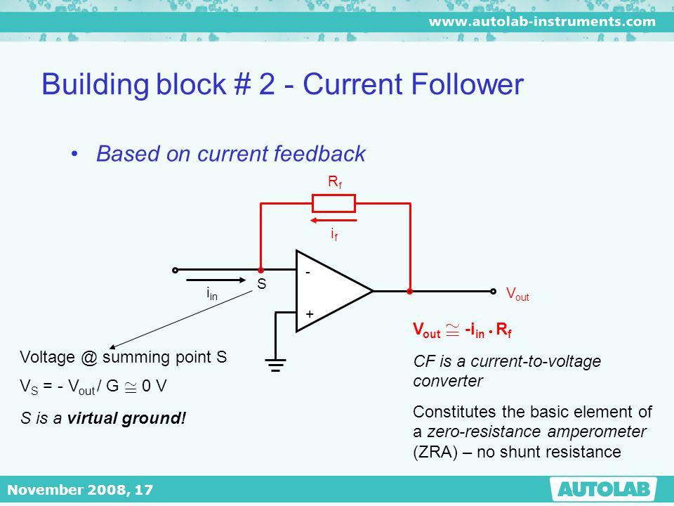 Building block # 2 - Current Follower