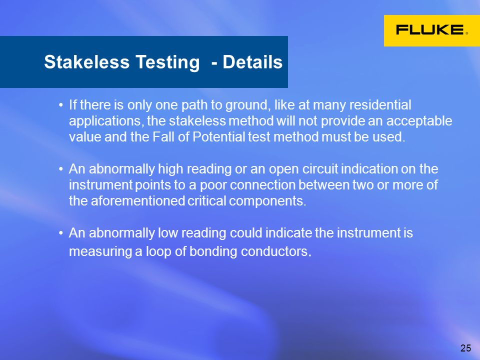 Stakeless Testing - Details