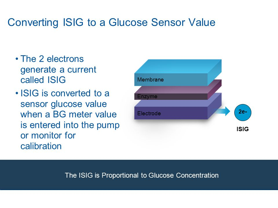 Converting ISIG to a Glucose Sensor Value
