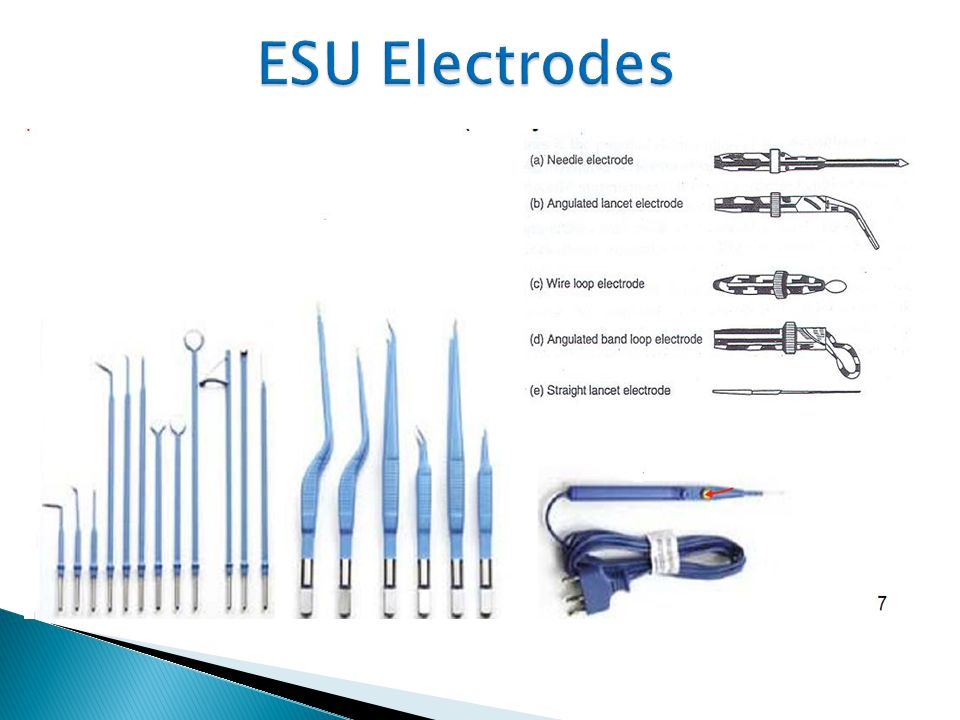 ESU Electrodes 14