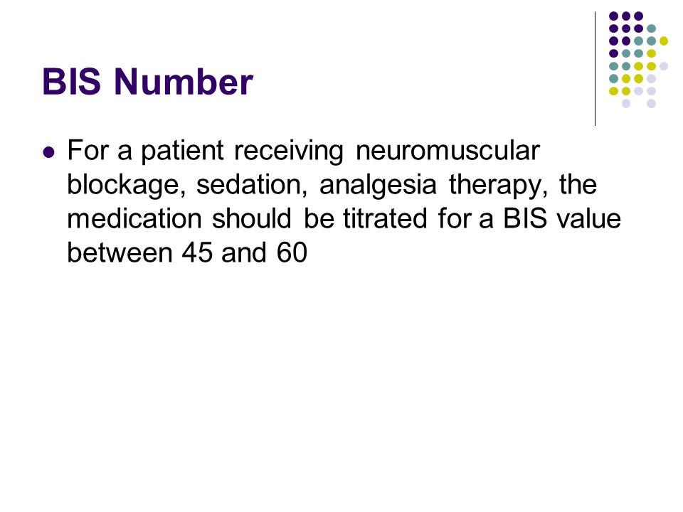 BIS Number