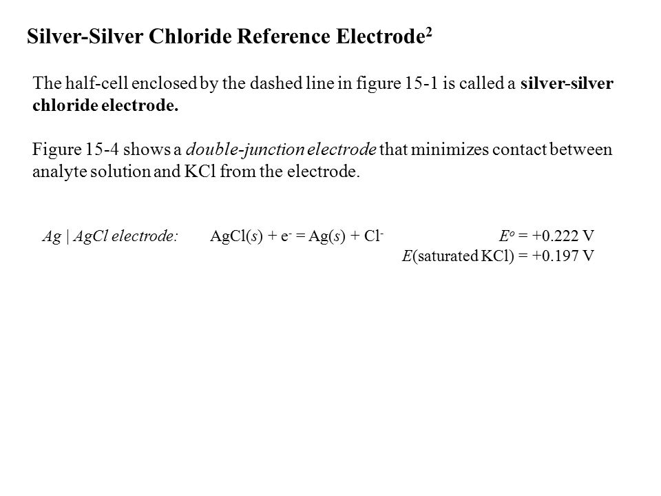 Silver-Silver Chloride Reference Electrode2