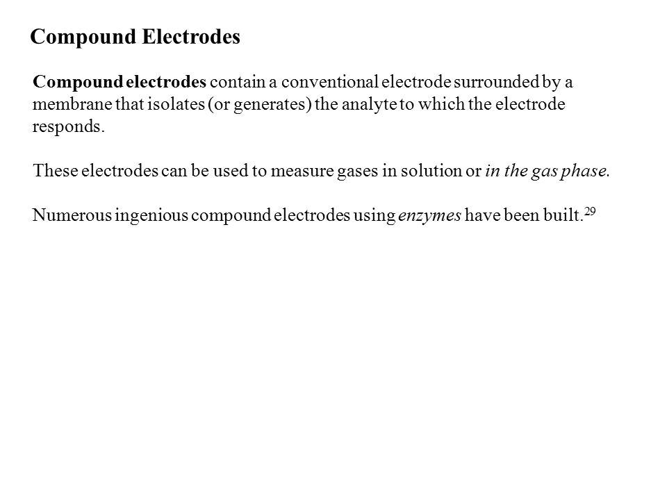Compound Electrodes