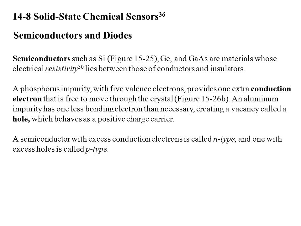 14-8 Solid-State Chemical Sensors36