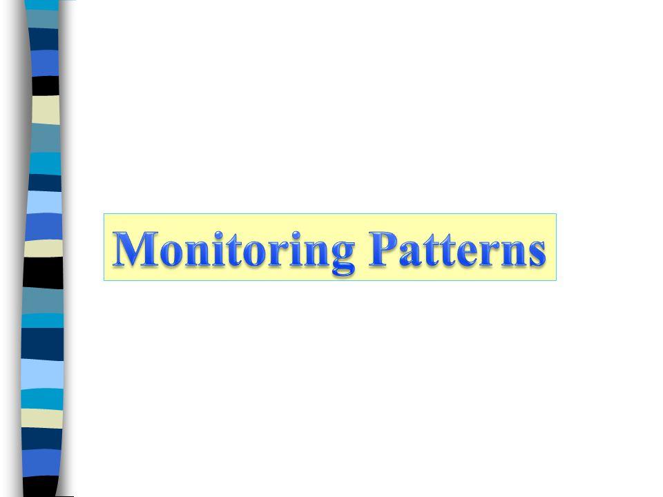Monitoring Patterns