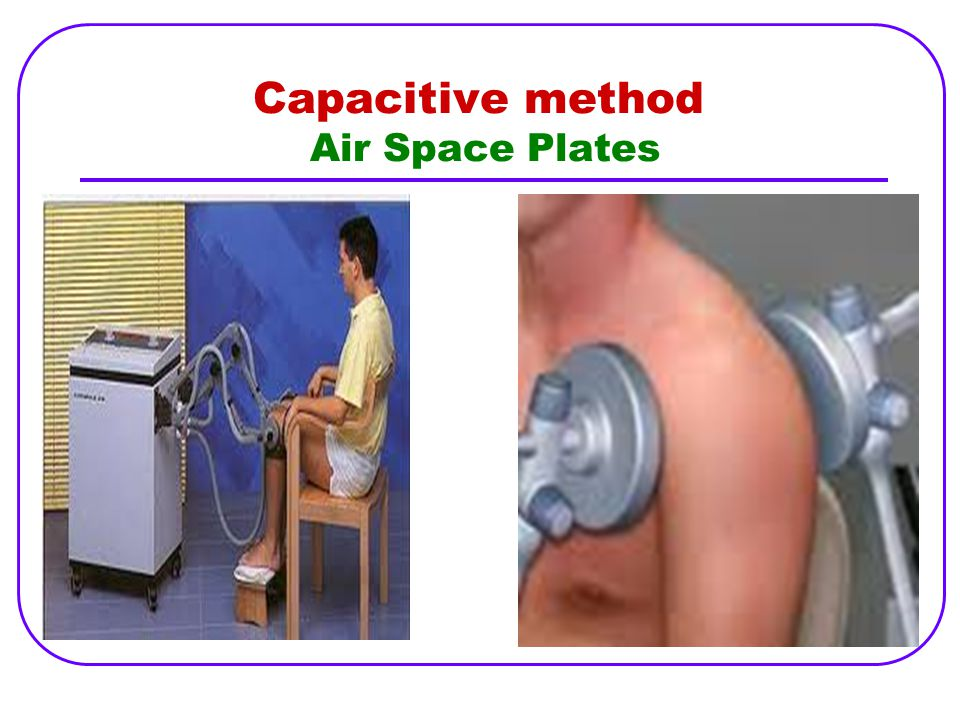 Capacitive method Air Space Plates